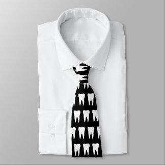 Cravate de dentiste avec la conception de motif de