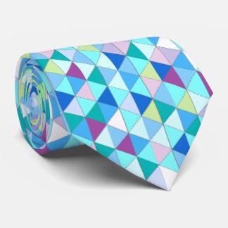 Cravate de diamants de vert bleu