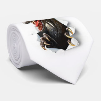 Cravate de dinosaure de Velociraptor
