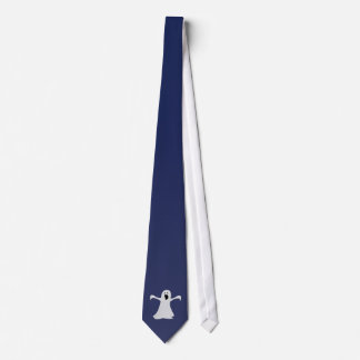 Cravate de fantôme dans le bleu