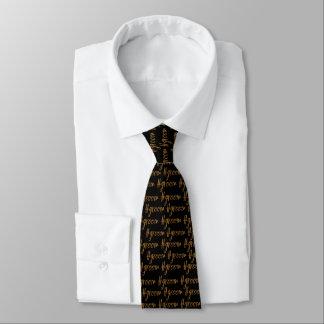 Cravate de hashtag de marié