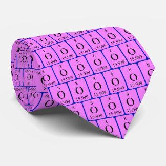 Cravate de l'élément 8 - l'oxygène