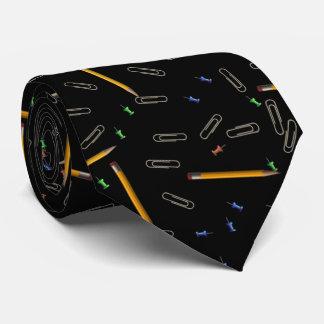 Cravate de motif de Pin de poussée de trombone de