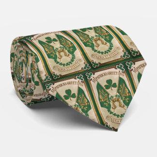 Cravate de salutation de jour de St Patricks