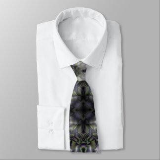 Cravate Dentelle argentée