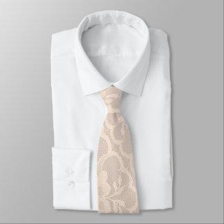 Cravate Dentelle en pastel royale moderne de blanc de
