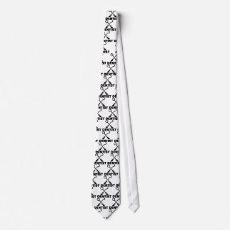 Cravate Dentiste