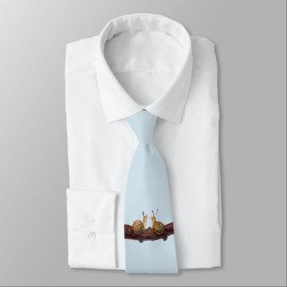 Cravate d'entretien de bébé escargot (bleu-clair)