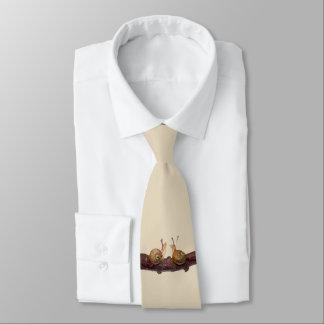 Cravate d'entretien de bébé escargot (crème)