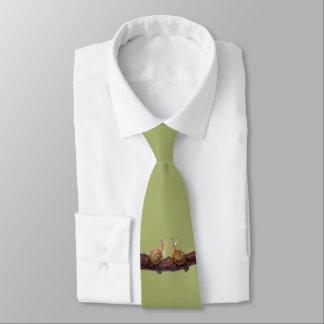 Cravate d'entretien de bébé escargot (vert clair)