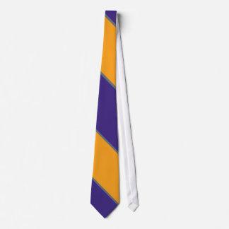 Cravate Désert royal Diagonal-Rayé