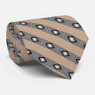 Cravate Diamants avec des bandes