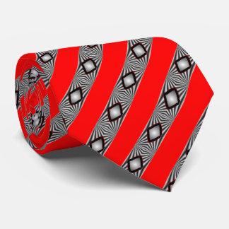 Cravate Diamants avec des liens de bandes