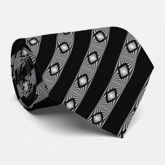 Cravate Diamants avec des rayures