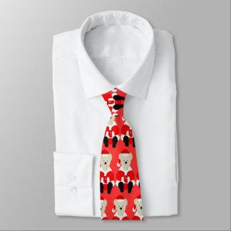 Cravate d'ours de Père Noël