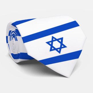 Cravate Drapeau de l'état d'Israël