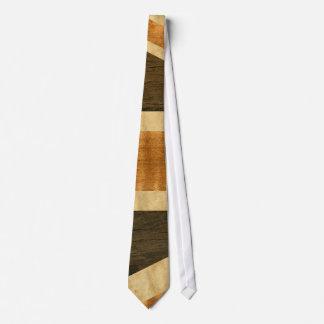 Cravate Drapeau en bois d'Union Jack R-U