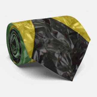 Cravate Drapeau jamaïcain - froissé