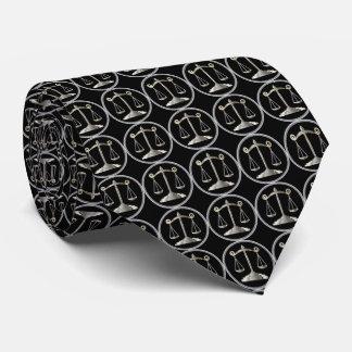 Cravate Échelles d'avocat de la loi | de la justice |