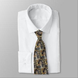 Cravate Échiquier de bataille d'échecs