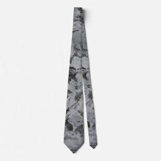 Cravate Encre blanche sur l'arrière - plan noir #5