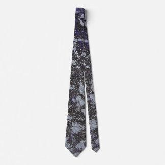 Cravate Encre noire et blanche sur l'arrière - plan