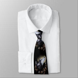 Cravate enrouée et rêveuse de receveur