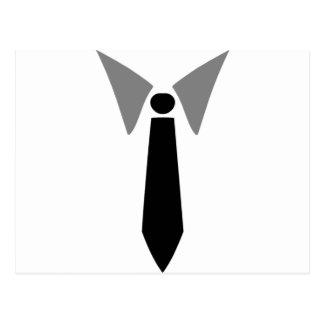Cravate et collier d'affaires cartes postales