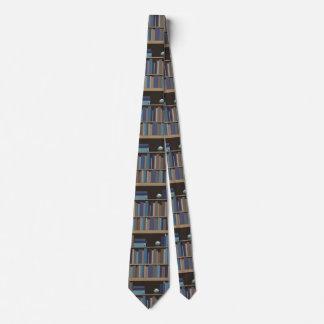 Cravate Étagères à livres de la lecture de professeurs de