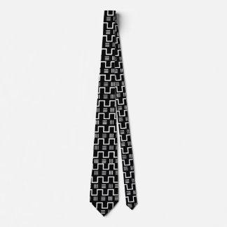 Cravate ethnique de tissu de boue