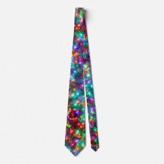 Cravate Étoiles de scintillement de Noël de luxe