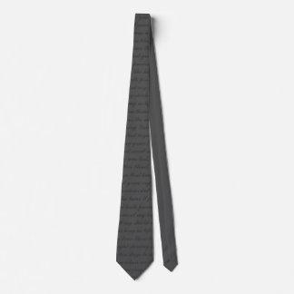 Cravate extraordinaire de grâce