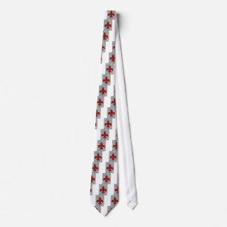 Cravate fleur de lis
