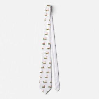 Cravate Fouille de la vie et de jardin il