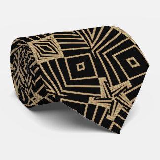 Cravate Fractale dispersée de diamants