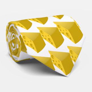 Cravate Fromage gastronome suisse drôle