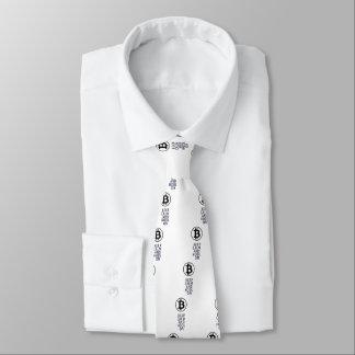 Cravate gardez le calme et le hodl dessus
