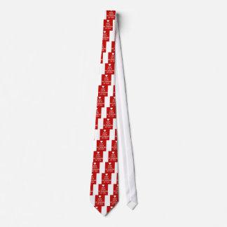Cravate Gardez le calme que je pense à vous