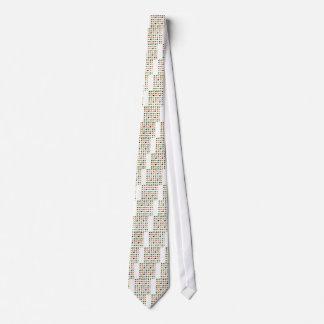 Cravate Grenouilles d'arc-en-ciel