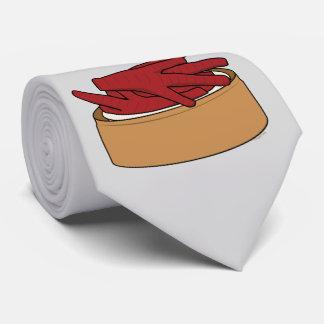 Cravate Griffe de Phoenix de Chinois de Dim Sum de pieds