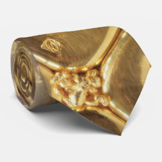 Cravate Homme d'affaires riche de la vapeur | d'or