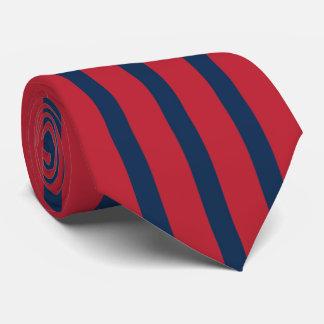Cravate Homme du rouge et du bleu d'excellence