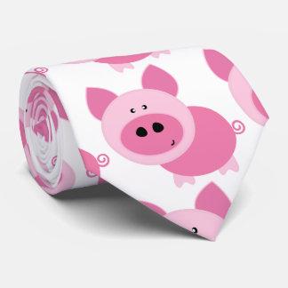 Cravate Homme rose de Piggies