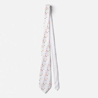 Cravate I coeur R-U, amour britannique, points de repère