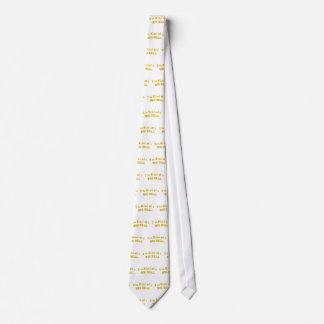Cravate Je suis plutôt d'une AFFAIRE