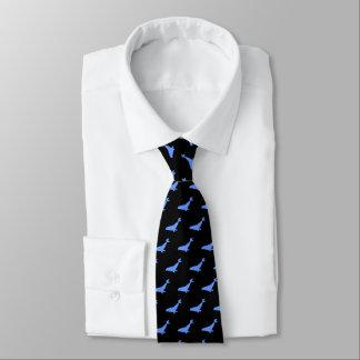 Cravate Joints bleus