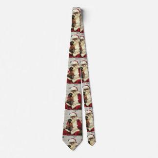 Cravate La petite aide de Père Noël