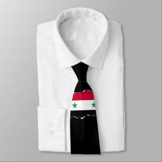 Cravate Le drapeau de la Syrie