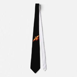Cravate Le feu Phoenix 3 d'oiseau
