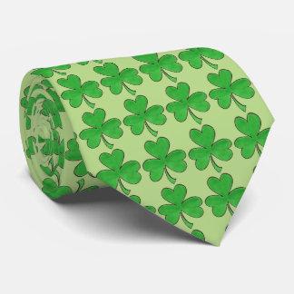 Cravate Le jour irlandais de Patrick de saint de trèfle